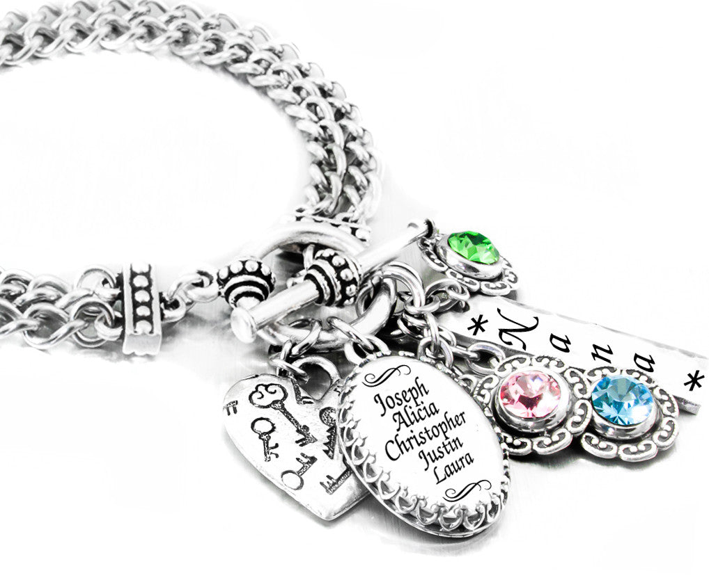 Personalized Mother S Birthstone Jewelry Mother S