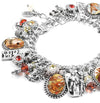 Mother Goose Charm Bracelet, Nursery Rhymes