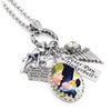 tinkerbell necklace, peter pan necklace