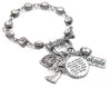 Personalized Inspirational Crystal Charm Bracelet