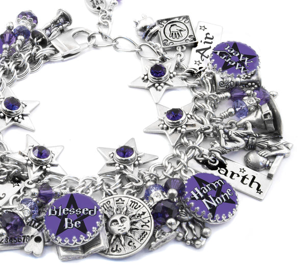 wiccan-charm-bracelet-blessed-be