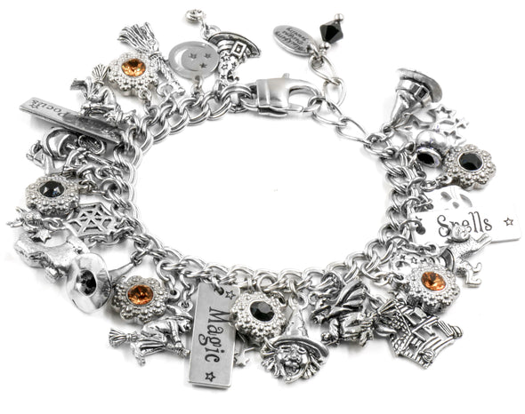 halloween charm bracelet women and girl