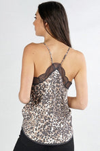 Load image into Gallery viewer, Chloe Leopard Cami