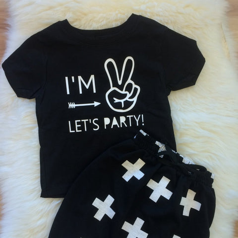 Im 2, let's party!  Tee