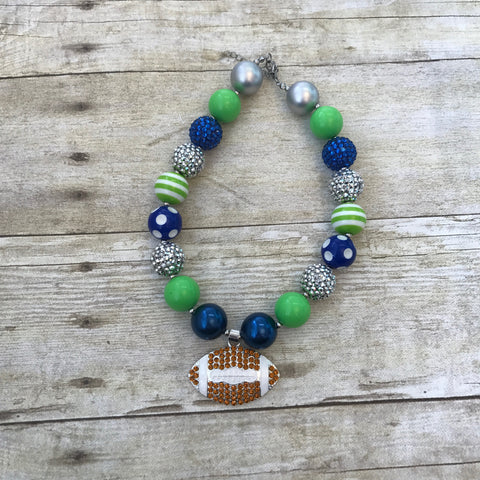Seahawk Chunky Necklace