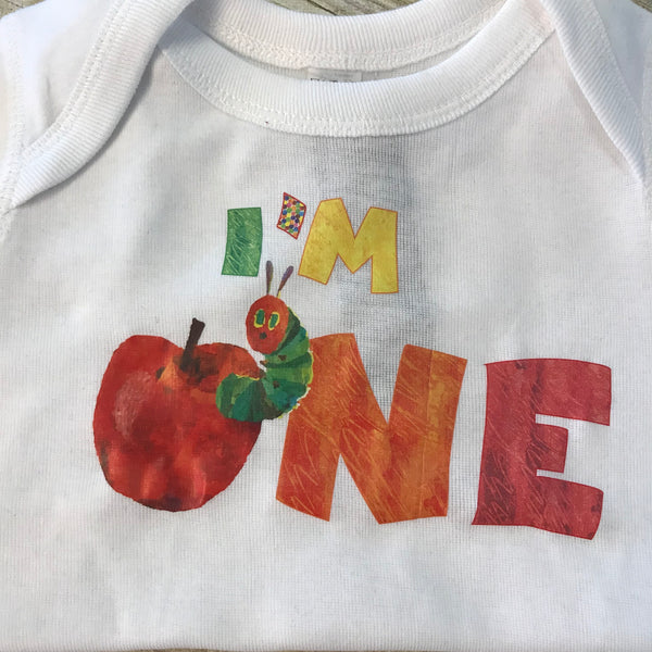 I'm One hungry Caterpillar Bodysuit