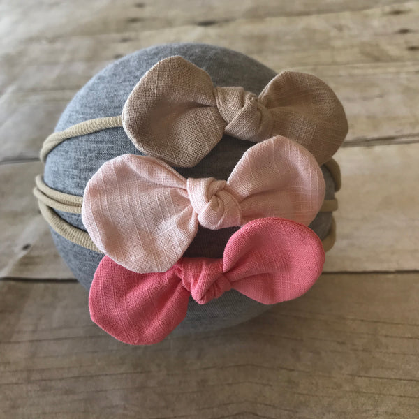 Fabric Buttercup Bow