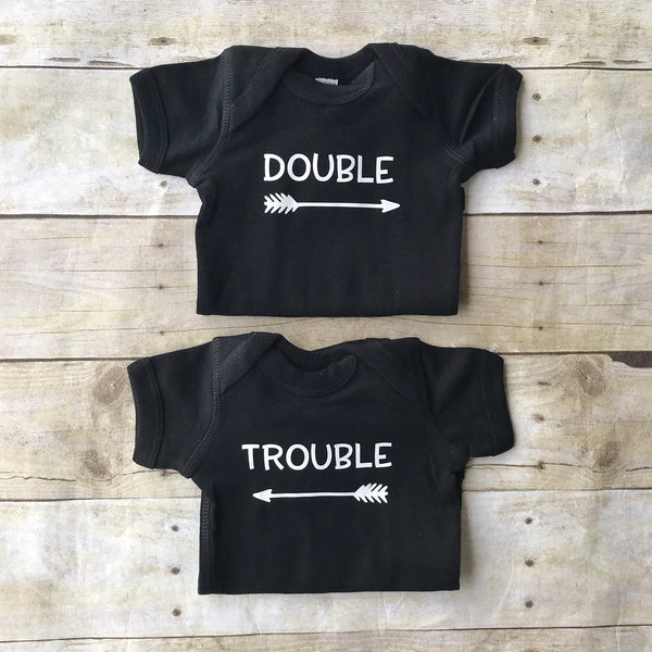 Double Trouble Twin Bodysuits