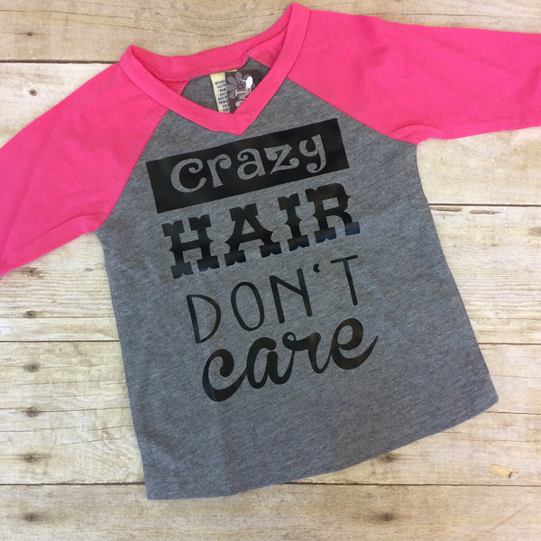 Crazy Hair Don't Care Shirt