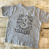 Three 3 THREE Shirt