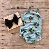 Royal Palm One-Piece Swimsuit