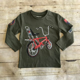 Army Green Biker Shirt