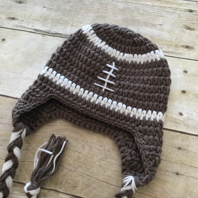 Football Hat with Tails