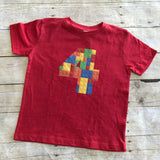 4th Lego Birthday Shirt