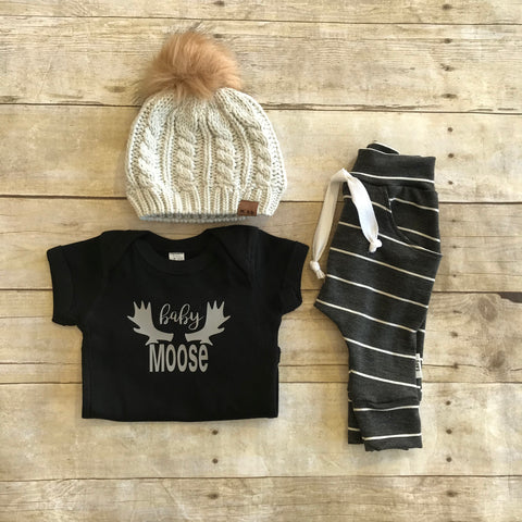 Baby Moose Bodysuit