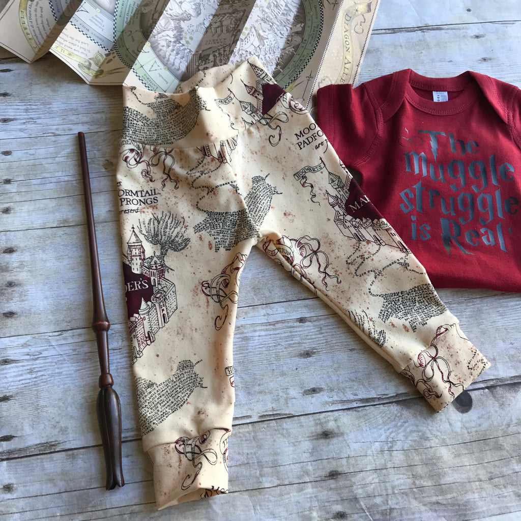 Marauders Map Leggings