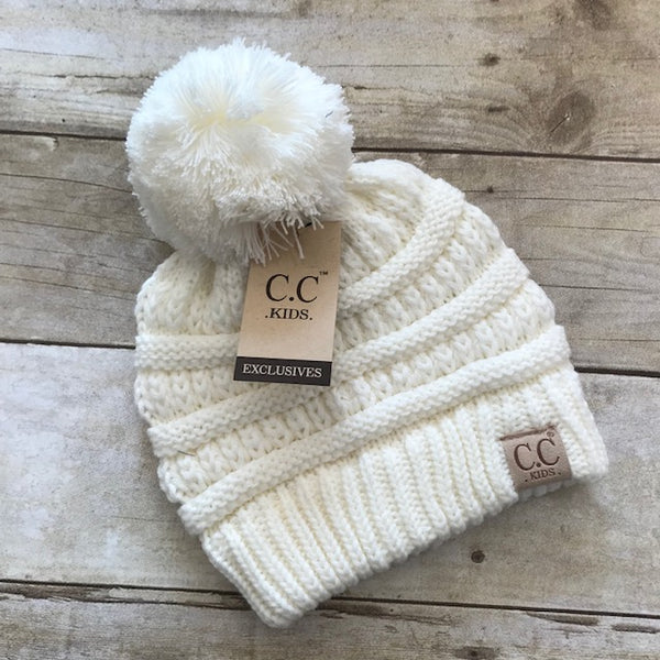 Toddler CC Cable Beanie