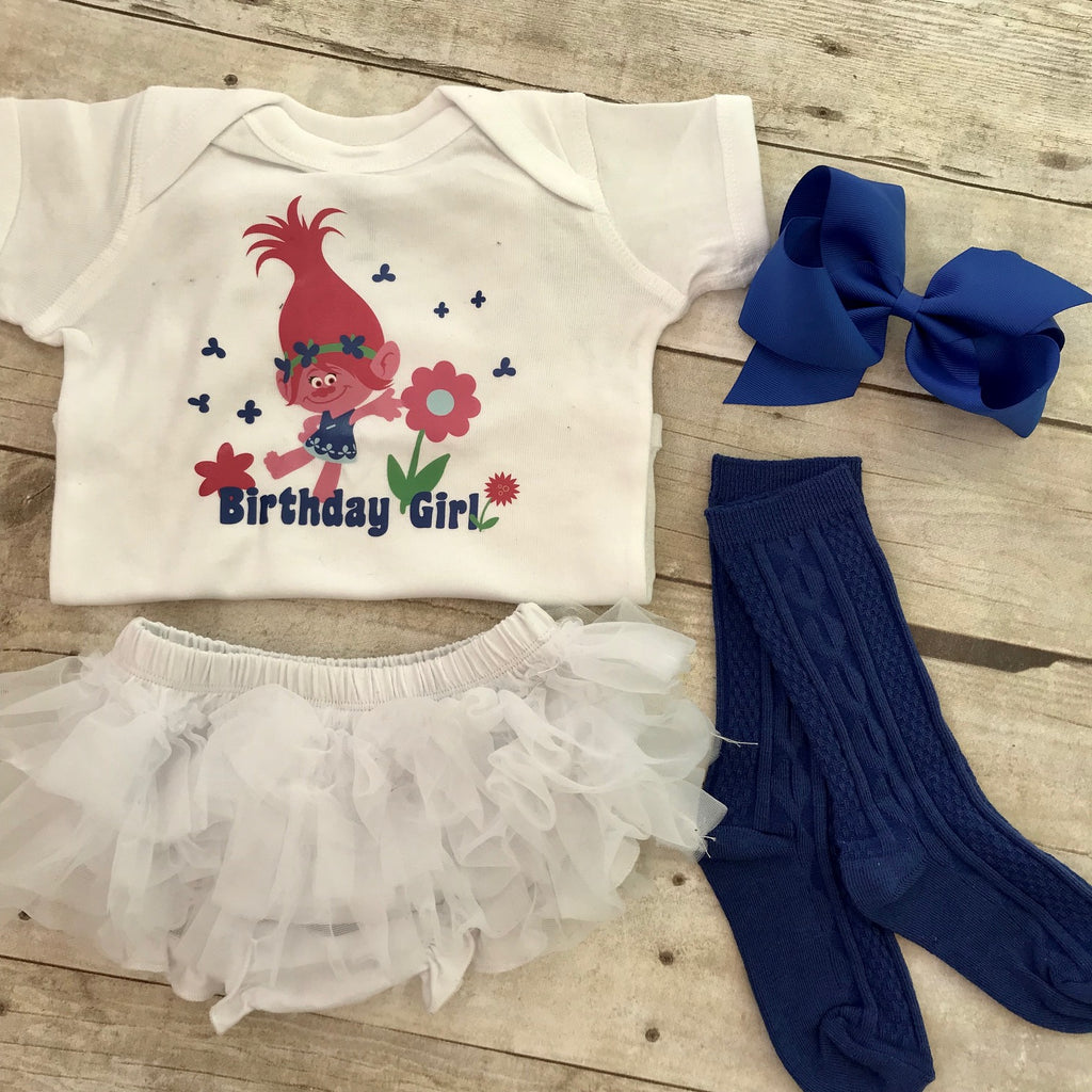 Trolls Birthday Shirt