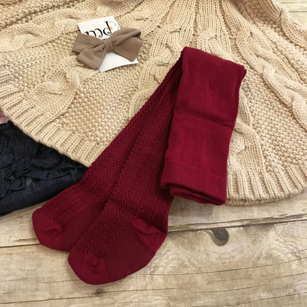 MD Cable Knit Tights