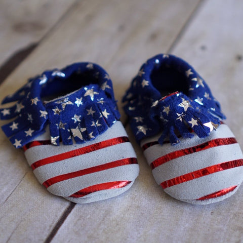 4th of July Moccasins