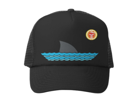 Sharky Trucker Hat