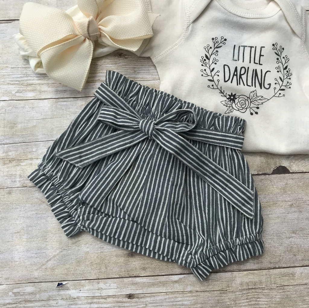 Stripe Cotton Bloomers