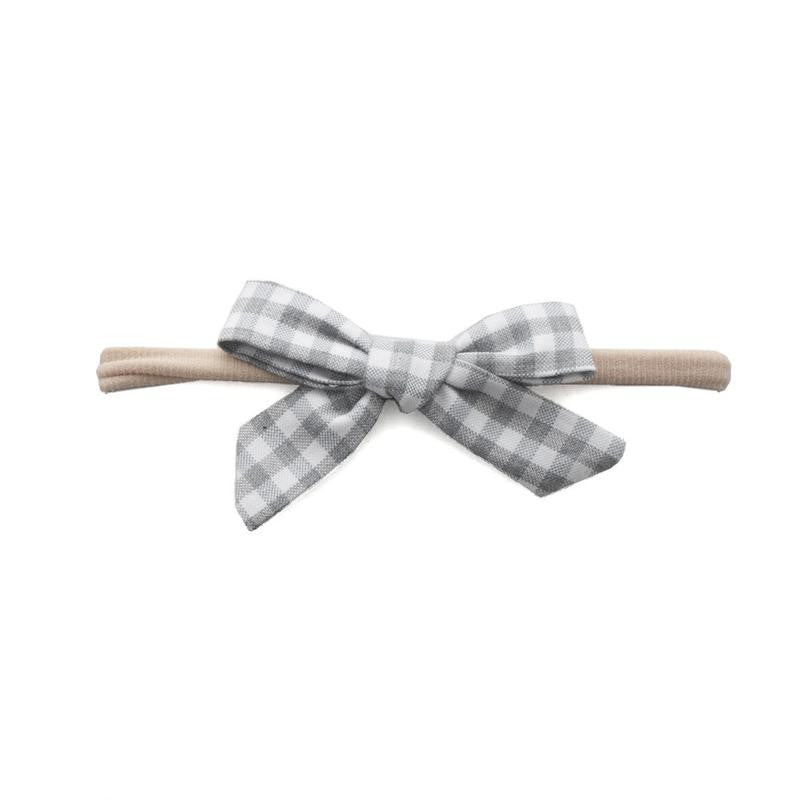 Cotton Print Bowtie Headband