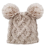 Aran Cable Knit Hat