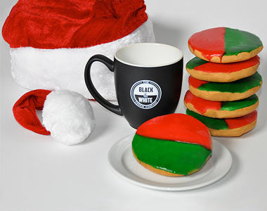 Mug & 6 Cookies: Christmas Theme