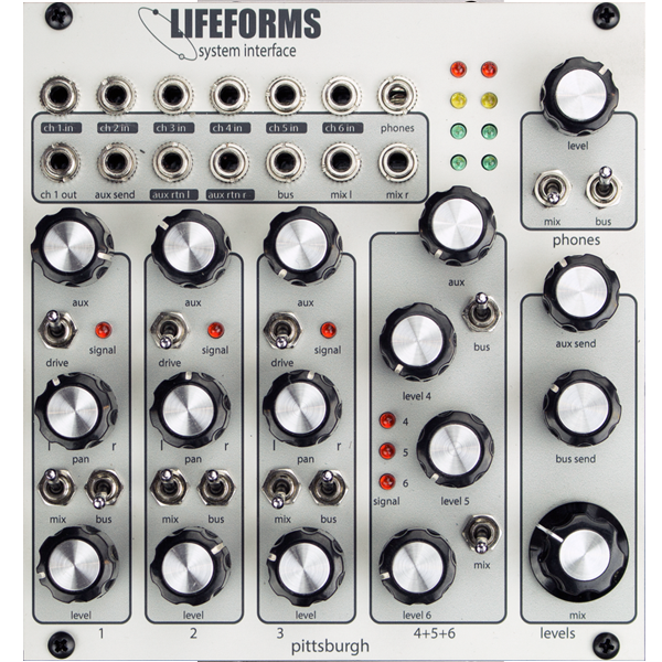 Lifeforms system interface
