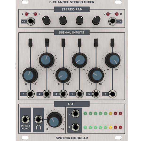 6-CHANNEL STEREO MIXER V2