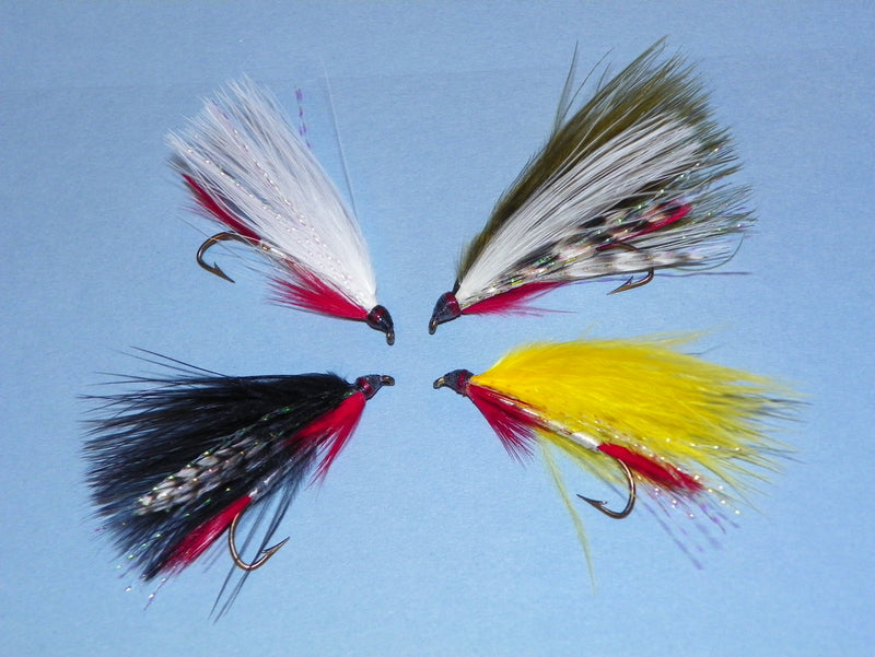 Dam Wammy marabou fly fishing streamer tied for Upper Dam in the Rangeley Region