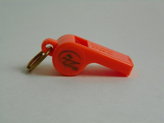 sportdog roy gonia whistle from Rangeley Maine fly fishing shop