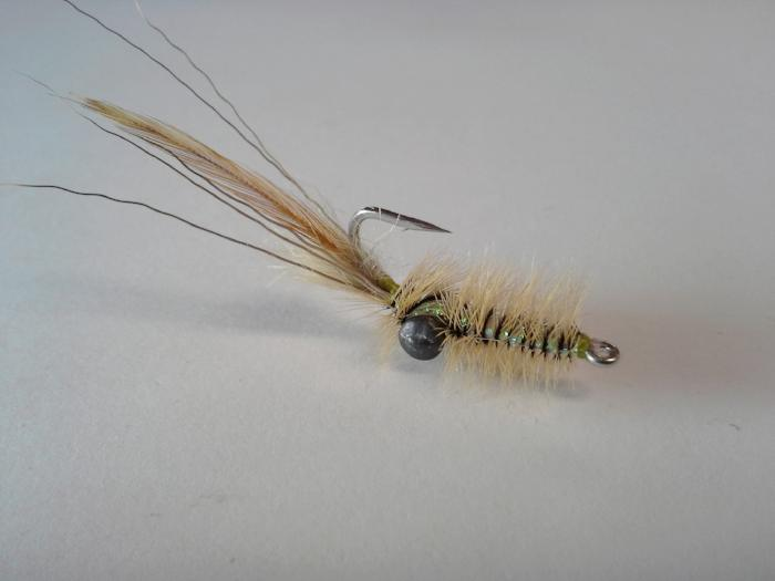 Bob's Cree Shrimp saltwater fly