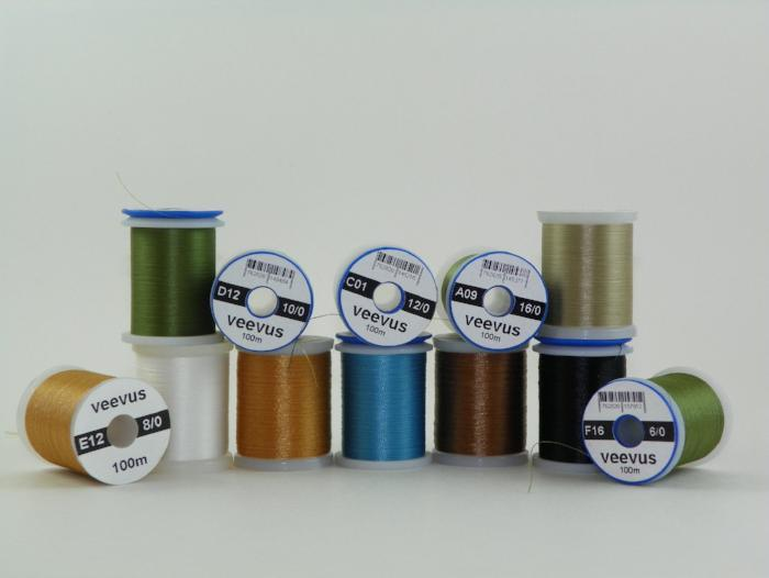 pile of veevus threads in assorted colors