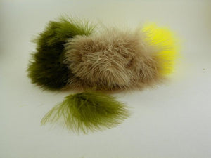 Strung Blood Quill Marabou from Rangeley Maine fly fishing shop