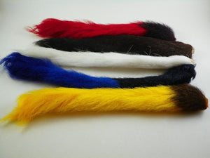 five dyed used for tail and wings for wullfs and streamer