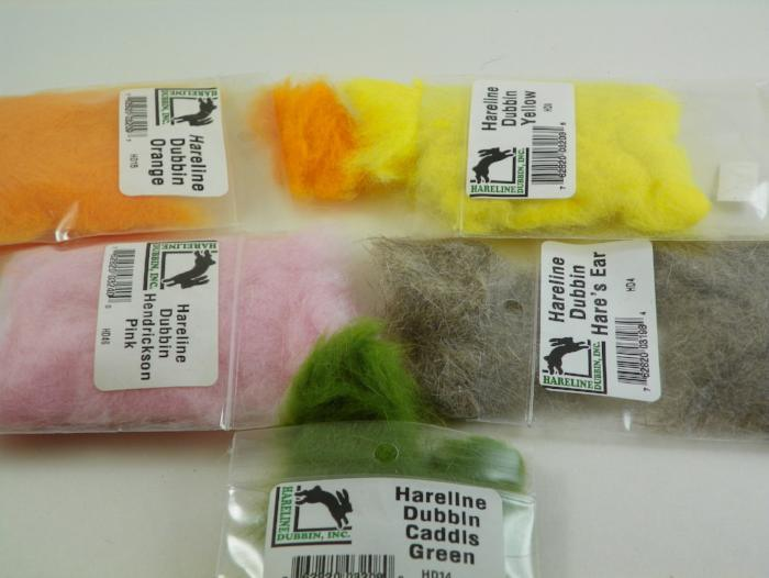Hareline Dubbing from Rangeley Maine fly fishing shop