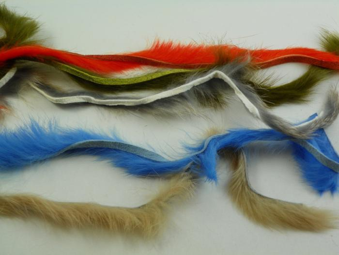 rabbit zonker strips from Rangeley Maine fly fishing shop