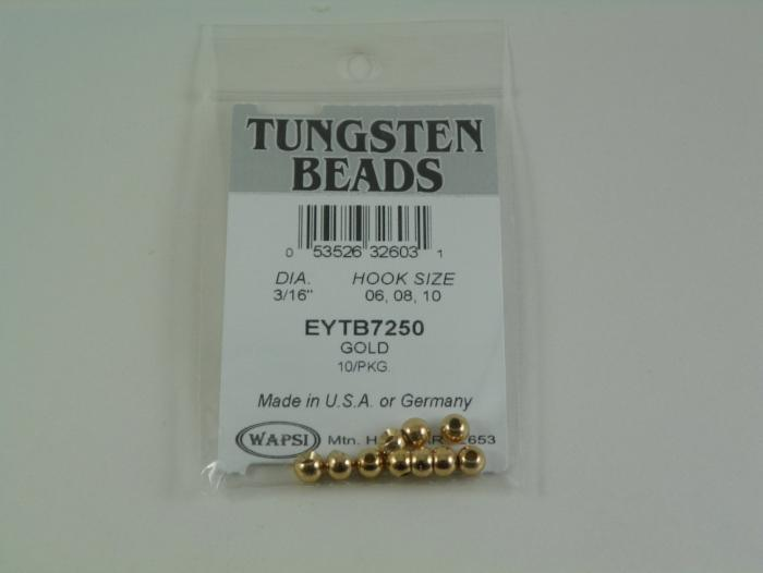 tungston bomb beads from Rangeley Maine fly fishing shop