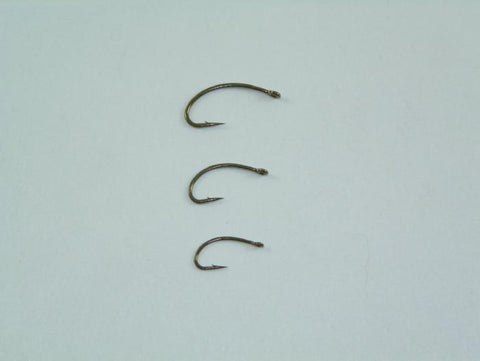 Mustad C49S Curved Nymph - 25 ct. pack