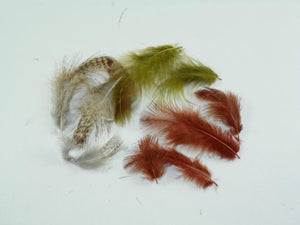 Hungarian Partridge Body Feathers from Rangeley Maine fly fishing shop