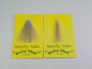Mayfly Tails from Rangeley Maine fly fishing shop