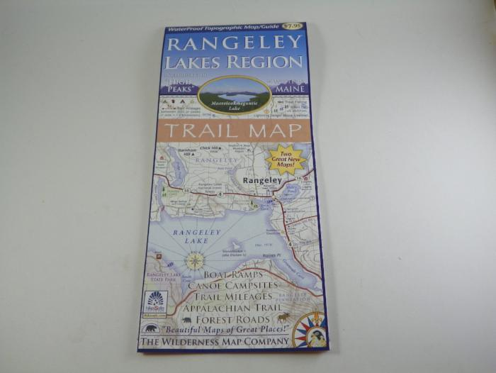 rangeley lakes region trail map from Rangeley Maine fly fishing shop