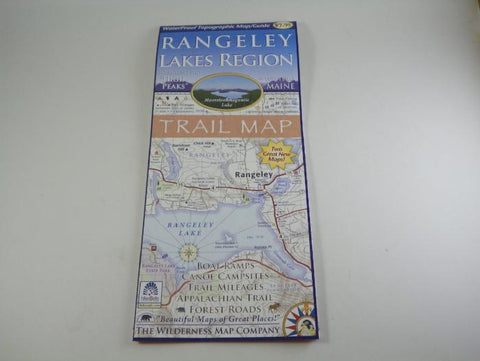 Rangeley Lakes Region Trail Map