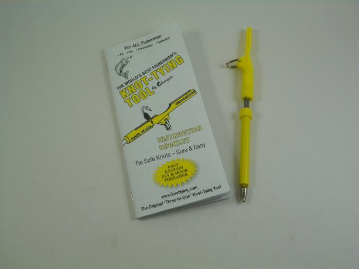 Knot Tying Tool from Rangeley Maine fly fishing shop