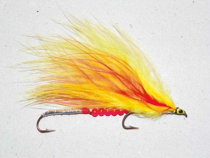 Mickey Finn Marabou Beads from Rangeley Maine fly fishing shop