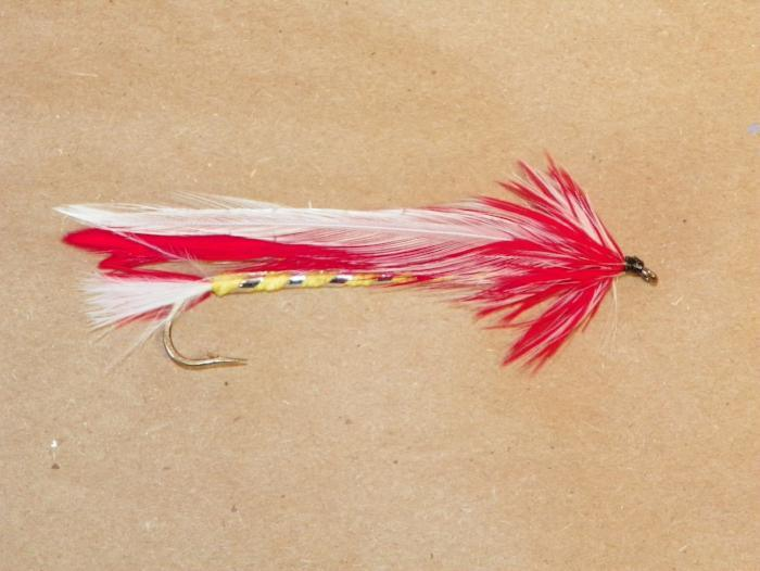 parmachenee belle #2 8x long from Rangeley Maine fly fishing shop