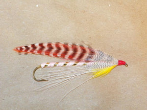 pink lady #2 8x long from Rangeley Maine fly fishing shop