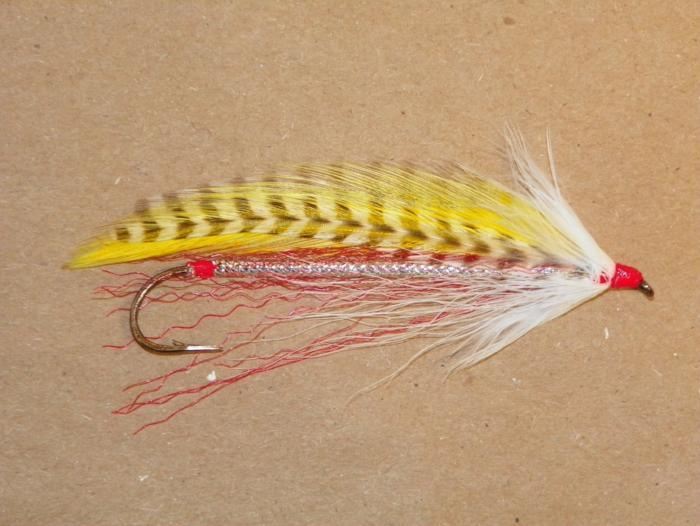 barnes special streamer 8x long fishing fly tied by Fishing Favorites